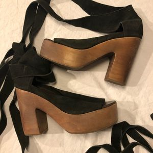 Free People Shoes - Free People Touch The Sky Women Platform Sandal